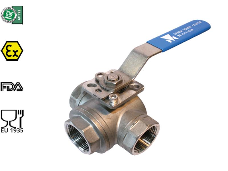 Kuglehaner | 3- og 2-vejs ventil og kuglehane | Bl.a. 3/4